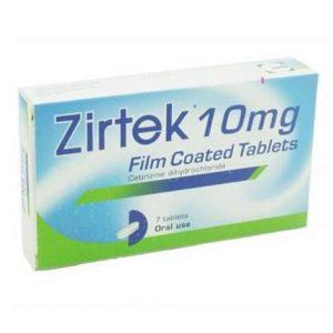 Zirtek Allergy Relief Tablets 7