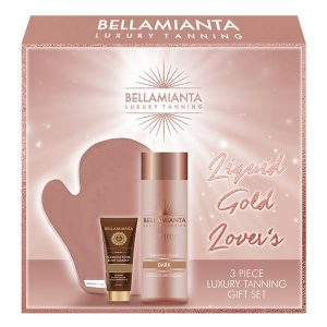 Bellamianta Luxury Tanning 3 Piece Set Dark