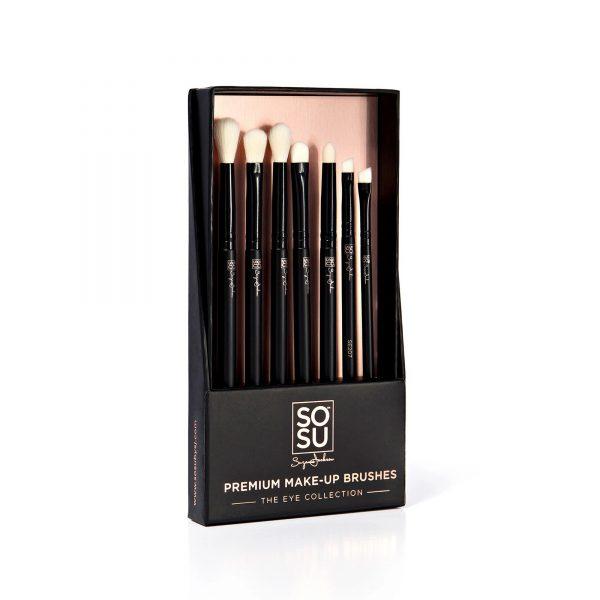 SoSu Premium Brush Set - Eye Collection