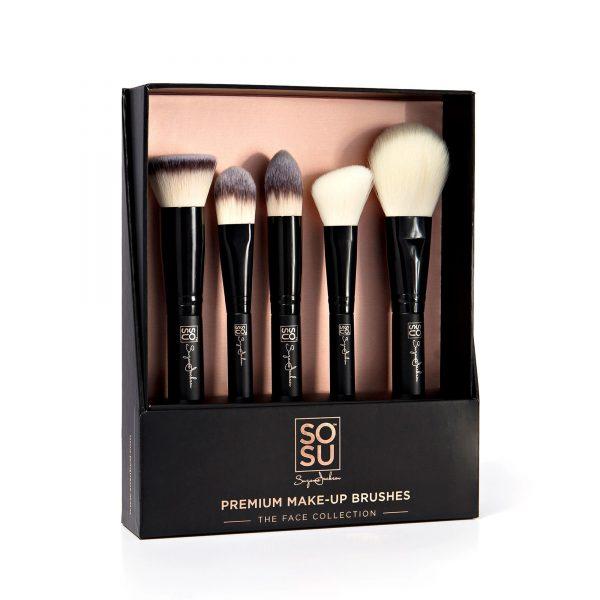 SoSu Premium Brush Set - Face Collection