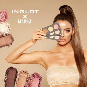 Inglot x Maura Glam & Glow Trio Palette