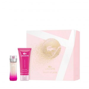 Lacoste – Touch of Pink 100ml Eau de Toilette Gift Set