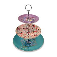Tipperary Crystal Birdy Cake Stand