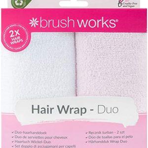 BrushWorks Hair Wrap DUO pack