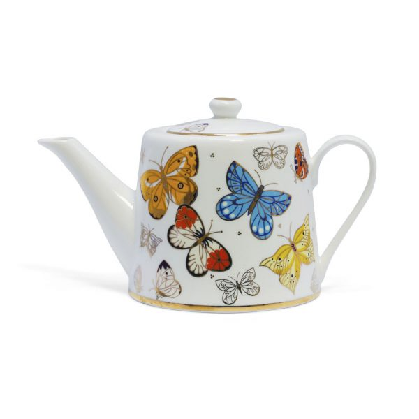 Tipperary Crystal Butterfly Tea pot