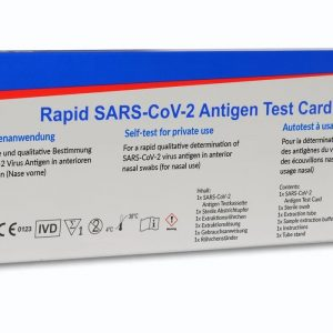 Rapid SARS-CoV-2 Antigen Self-test – Single Test (CE-IVD Certified)