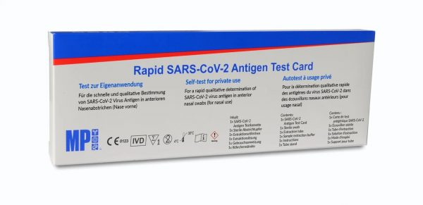 covid - Single Test (CE-IVD Certified)